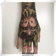 手背纹身 般若纹身图案 般若纹身多少钱