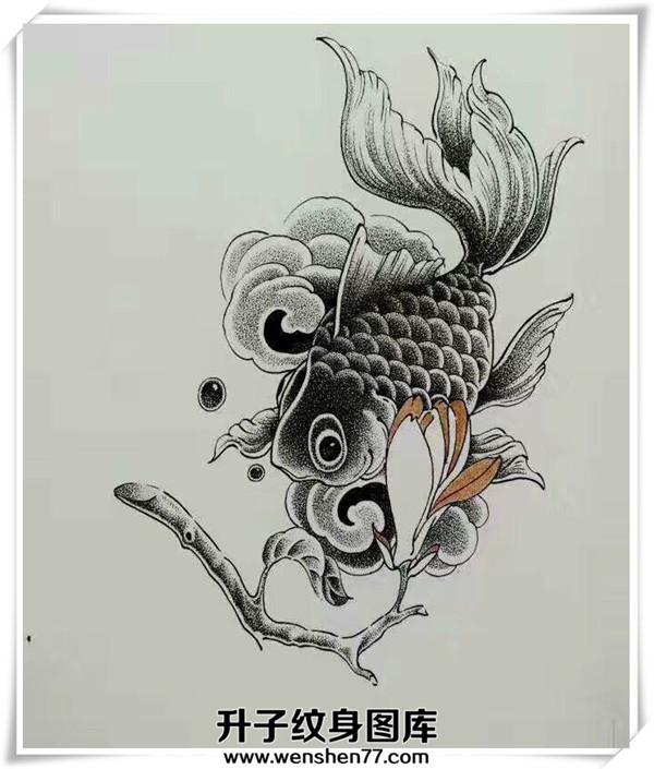 鲸鱼纹身手稿 点刺纹身 一般点刺纹身怎么收费