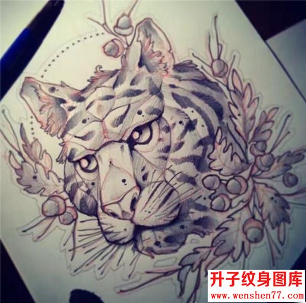 玫瑰花纹身手稿图案 纹身图片            骷髅头老鼠纹身手稿图案