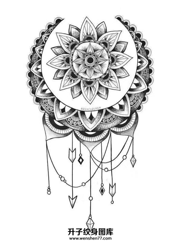 梵花纹身_梵花纹身手稿图案-梵花纹身价格