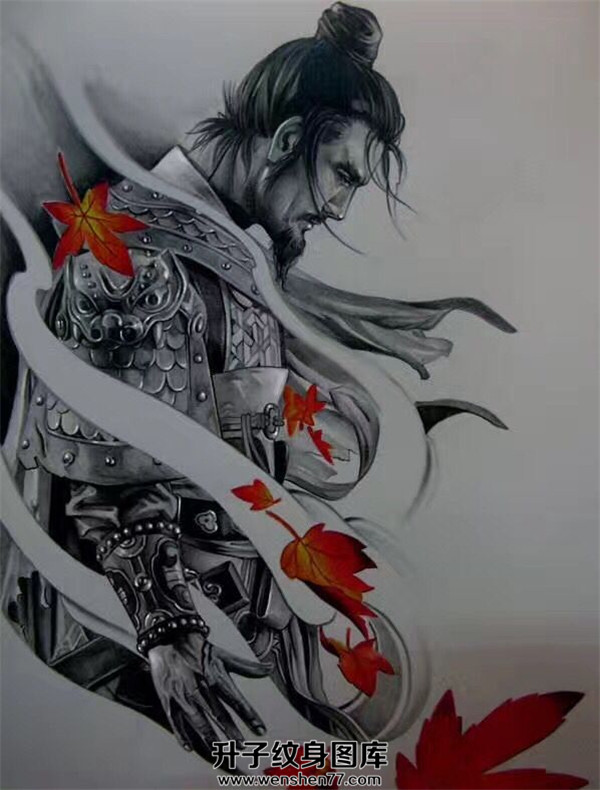 林冲纹身-林冲纹身图案-林冲纹身手稿