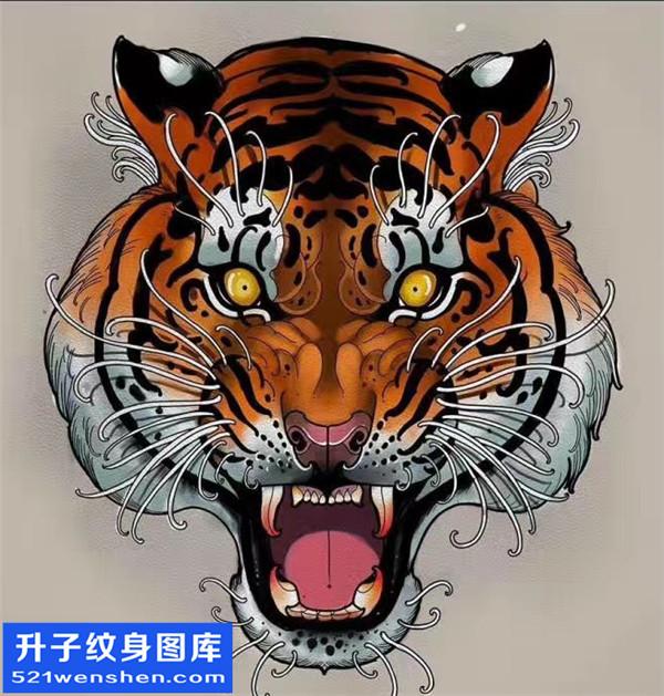 老虎纹身 老虎纹身手稿图案 老虎纹身寓意