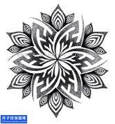 期待已久的曼陀罗花纹身手稿 特价中优惠中!重